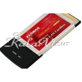 کارت شبکه شبکه Edimax Ew 7108Pcg 802 11G Wireless Lan Pc Card Ieee 802 11G B Wpa Compliant