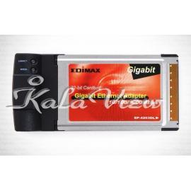 کارت شبکه شبکه Edimax Gigabit Ethernet Cardbus Adapter EP 4203DL