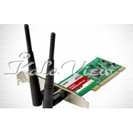 کارت شبکه شبکه Edimax Wireless 802 11n PCI Adapter EW 7727IN