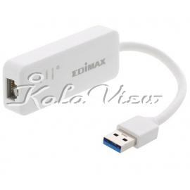 کارت شبکه شبکه Edimax EU 4306 USB 3 0 Gigabit Ethernet Adapter