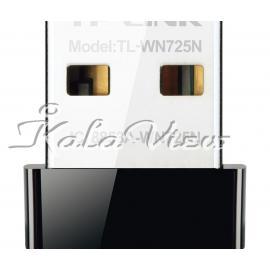 کارت شبکه شبکه Tp link TL WN725N Wireless N150 Nano USB