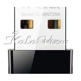 کارت شبکه شبکه Tp link Tp Link Tl Wn725n Wireless N150 Nano Usb