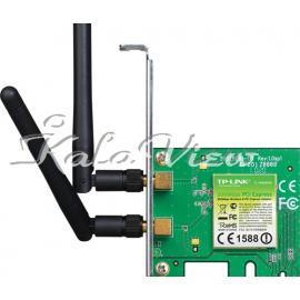 کارت شبکه شبکه Tp link TL WN881ND 300Mbps Wireless N PCI Express Adapter