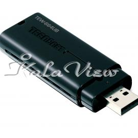 کارت شبکه شبکه Trendnet TEW 664UB USB Ethernet Adapter