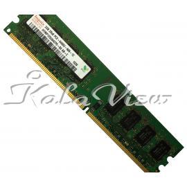 رم کامپیوتر Hynix DDR2 ( PC2 ) 800( 6400 ) 2GB Cl6 Single Channel Dimm