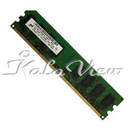رم کامپیوتر Micron DDR2( PC2 ) 800( 6400 ) 2GB CL6 Single Channel Udimm
