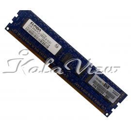 رم کامپیوتر Elpida DDR3 ( PC3 ) 1333( 10600 ) 2GB 240Pin