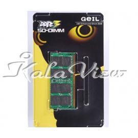 رم لپ تاپ Geil DDR3( PC3 ) 1600( 12800 ) 4GB CL11