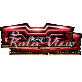 رم Adata Dazzle Dz1 DDR4 2800Mhz Cl17 Dual Channel 16Gb