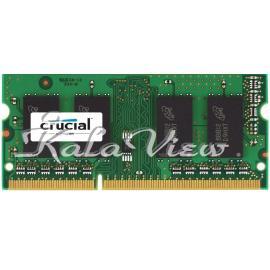 رم لپ تاپ Crucial DDR3( PC3 ) 1600( 12800 ) 4GB Sodimm