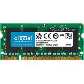 رم لپ تاپ Crucial DDR2( PC2 ) 6400( 800 ) 4GB