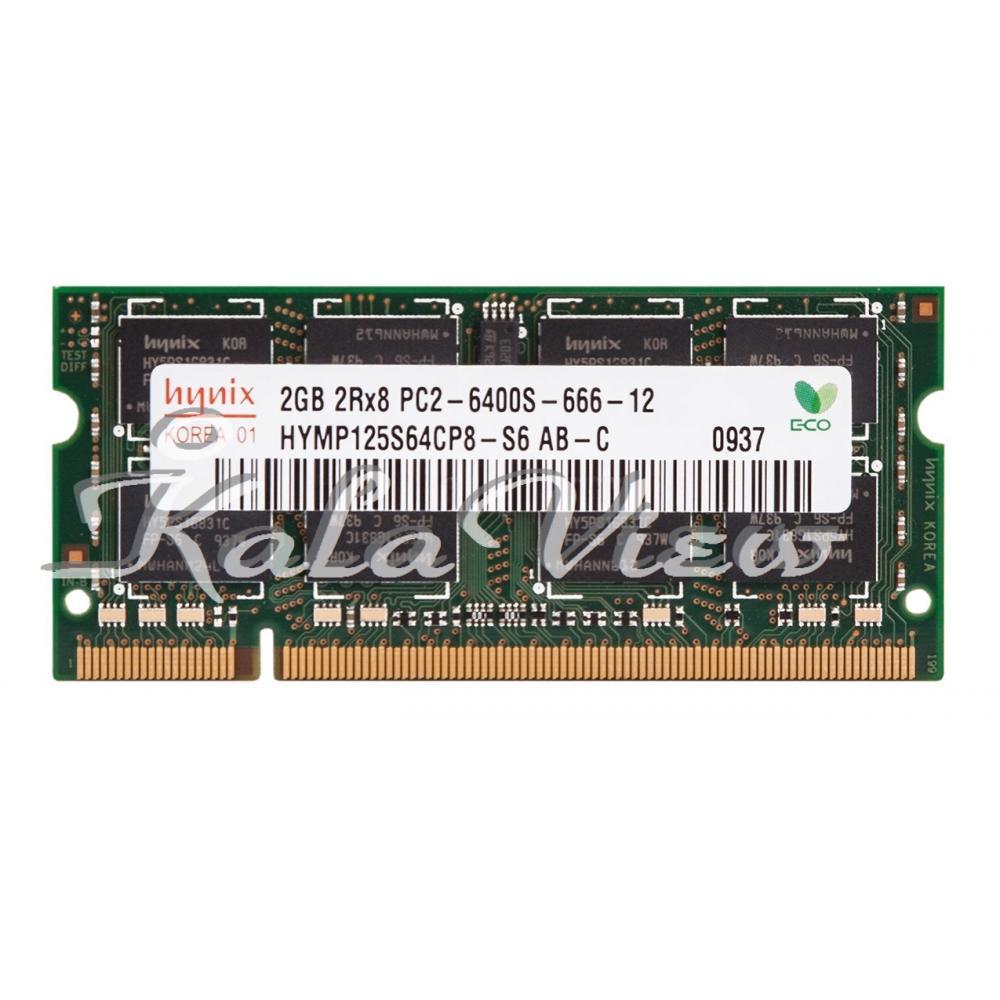 رم لپ تاپ Hynix DDR2( PC2 ) 800( 6400 ) 2Gb