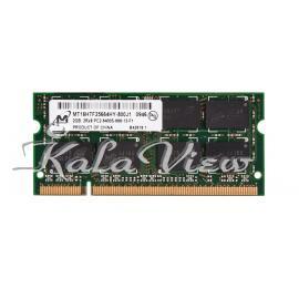 رم لپ تاپ Micron DDR2( PC2 ) 800( 6400 ) 2Gb