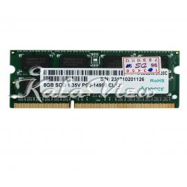 رم لپ تاپ Apacer DDR3L( PC3L ) 1866( 14900 ) 8GB Sodimm