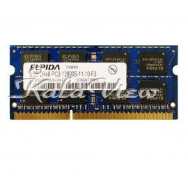 رم لپ تاپ Elpida DDR3( PC3 ) 1600( 12800 )8GB