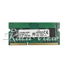 رم لپ تاپ  Kingston DDR3( PC3 ) 1333( 10600 ) 4GB CL9