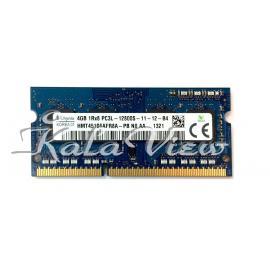 رم  لپ تاپSk Hynix DDR3L( PC3L ) 1600( 12800 ) 4Gb