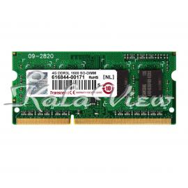 رم لپ تاپ Transcend DDR3L( PC3L ) 1600( 12800 ) 4GB Sodimm