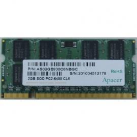 رم لپ تاپ Apacer DDR2( PC2 ) 800( 6400 ) 2GB CL6